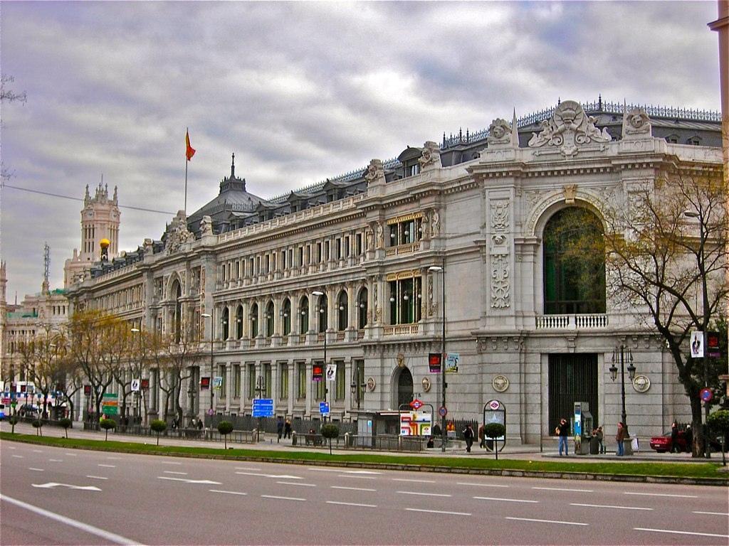 Banco de espana en madrid curiosidades en espa a for Horario bancos madrid